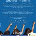 ✔| TLC e Mini TLC comunicam a suspensão dos cursos de 2020, na Arquidiocese de Botucatu