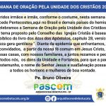 Semana de Oração pela unidade dos Cristãos 2020