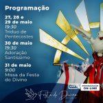 PROGRAMAÇÃO | FESTA DO DIVINO DE ANHEMBI