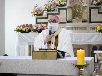 Dom Maurício gravou mensagem a todos os fiéis da Arquidiocese