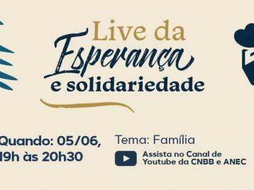 Hoje: Live com os padres Zezinho, João Carlos e Ezequiel Dal Pozzo no Youtube da CNBB
