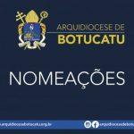 Dom Maurício nomeou Juízes Instrutores das Câmaras Eclesiásticas de Botucatu e Avaré, e novo Vigário para Paróquias São João Batista (Laranjal Paulista) e N.Sra. da Conceição (Pereiras)