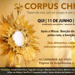 Paróquias de Botucatu se unem para celebrar Corpus Christi