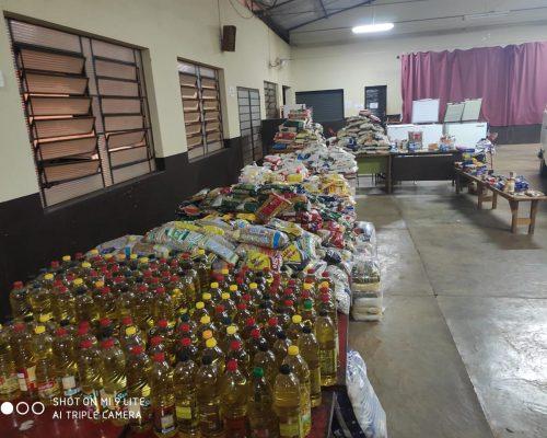 Corpus Christi foi marcado pela solidariedade em Arandu