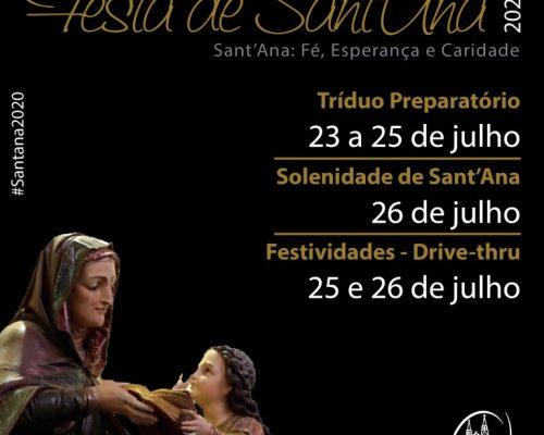 Festa de Sant'Ana 2020: Fé, Esperança e Caridade