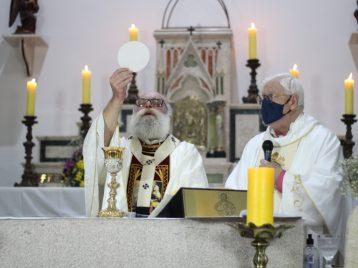 Dom Maurício celebrou Missa de conclusão da Festa de Sant'Ana, Padroeira da Arquidiocese