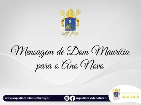 Mensagem de Dom Maurício para o Ano Novo