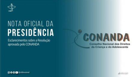 Presidência da CNBB divulga Nota sobre a resolução do Conanda que trata dos adolescentes em cumprimento de medidas socioeducativas