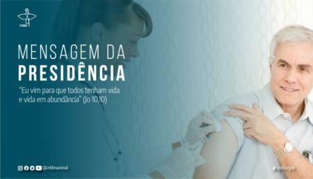 Mensagem da Presidência da CNBB: A vacina contra a Covid-19 é um direito de todos os brasileiros