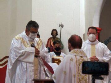 Padre João Paulo toma posse como novo pároco do Santuário São Judas Tadeu