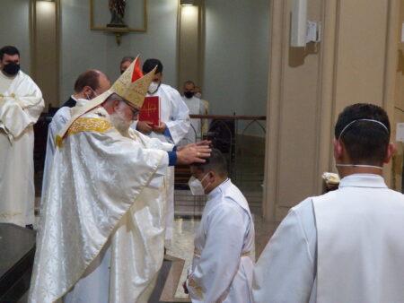 Arquidiocese de Botucatu celebra a ordenação diaconal de Marco Raphael