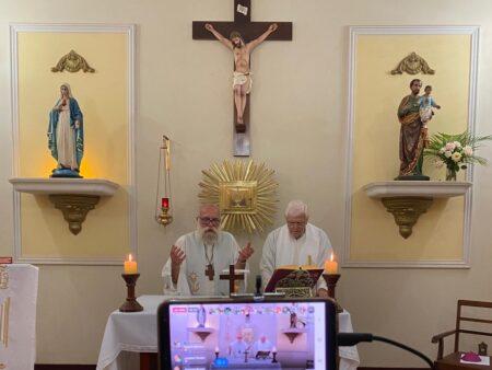 Celebrações presenciais seguem suspensas em toda a Arquidiocese