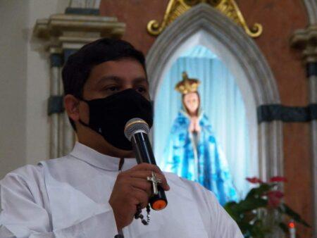 Seminarista Marco Raphael conclui Tríduo Vocacional