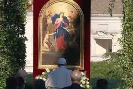 Papa a Maria: Desata os nós do egoísmo, da indiferença e da violência