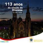 113 anos da criação da Diocese de Botucatu