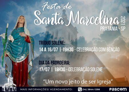Festa de Santa Marcelina acontece no mês de julho em Pratânia – SP