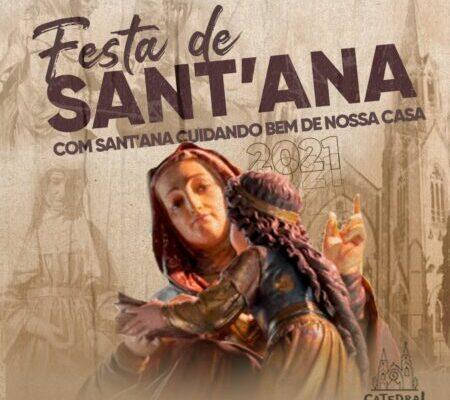 Festa de Sant'Ana ocorre entre 23 e 26 de julho em Botucatu