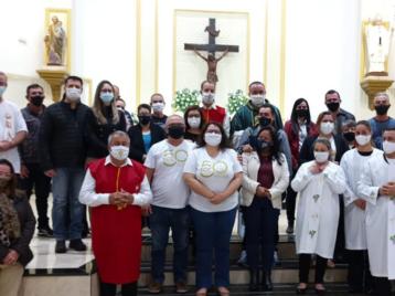 Nos dias 10 e 11 de Julho dez Paróquias de nossa Arquidiocese celebraram o Dia Nacional do ECC