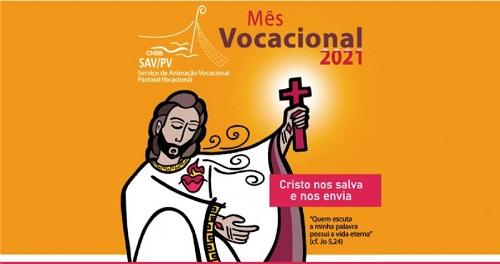 Mês de agosto é dedicado à oração, reflexão e atividades nas comunidades sobre o tema das vocações