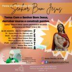 """Paróquias de Conchas e Pratânia celebram a festa do """"Senhor Bom Jesus"""" nesta sexta (06)"""